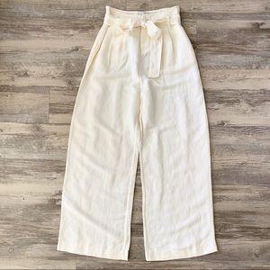 NWT Rails Jess Wide Leg High Waist Linen Pants XS